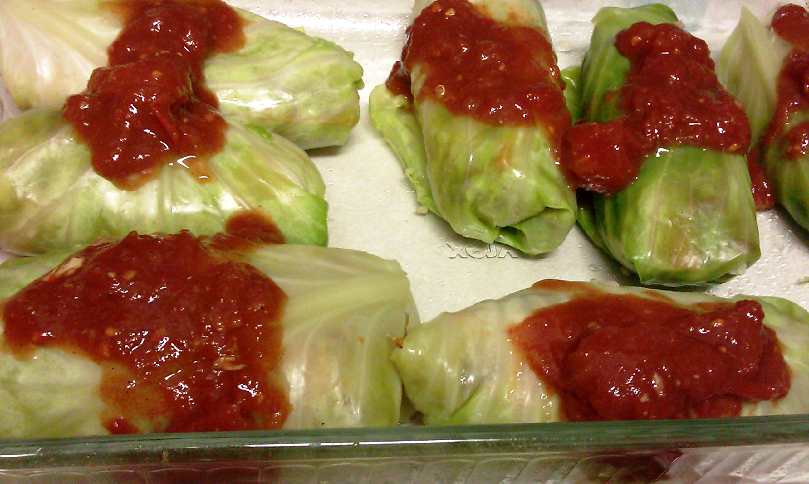 Stuffed Cabbage With Quinoa + Roasted Sweet Potato Recipes ...